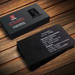επαγγελματικές κάρτες, Κάρτες ΣΚΟΥΛΑΡΙΚΗΣ με γκοφρέ & τοπικό UV