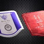 Αυτοκόλλητα για τσάι Hotel Grande Bretagne με θερμοτυπία
