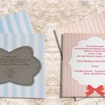 Προσκλητήρια Γάμου, Προσκλητήρια, Γάμος, Βάπτιση, λαμινέιτ ιδιότυπες