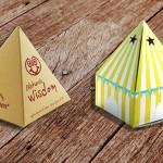 Κουτιά ιδιότυπα γλυκών, Μπομπονιέρες