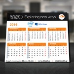 ΟΚΤΑΒΙΤ - INTEL - WINDOWS Ημερολόγιο 2016