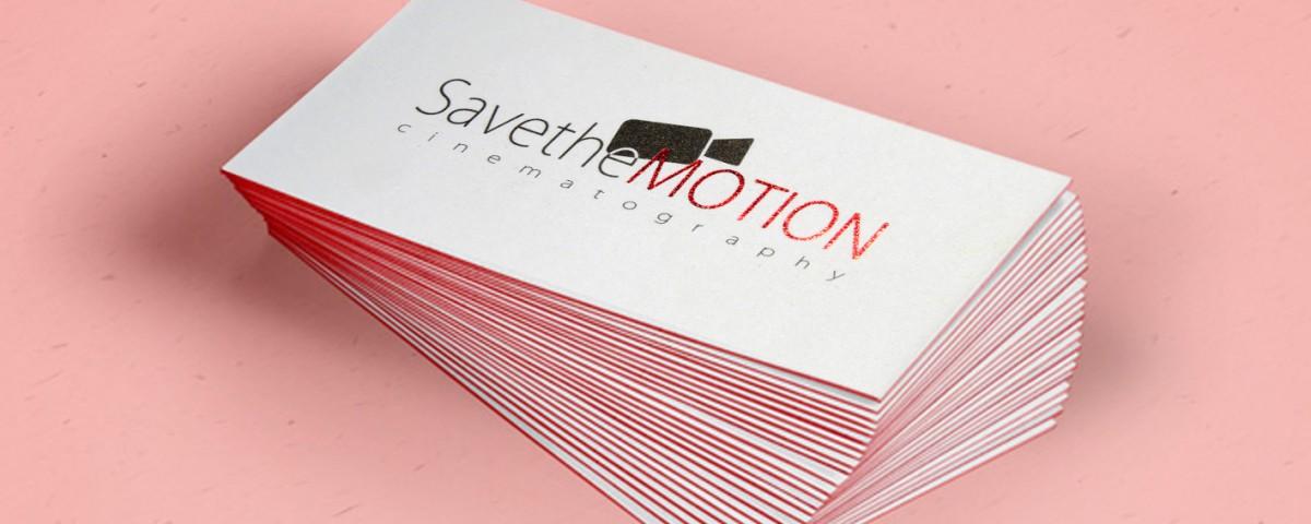 επαγγελματικές κάρτες, save the motion, Laminate, Business card, χρωματιστό σόκορο, κάρτα,