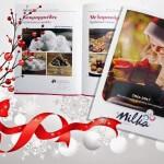 DS Milka, Milka ice dream, Χριστούγεννα, Έντυπο, Μίλκα, Γλυκά