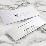 the art whisperers, βαθυτυπία, επαγγελματική κάρτα